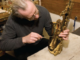 Repair of Saxophone