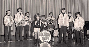 Photo of Bubble Gum Band circa 1971