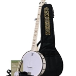 Goodtime Beginner Banjo Pack (DVD, Strap, Tuner & Gig Bag)